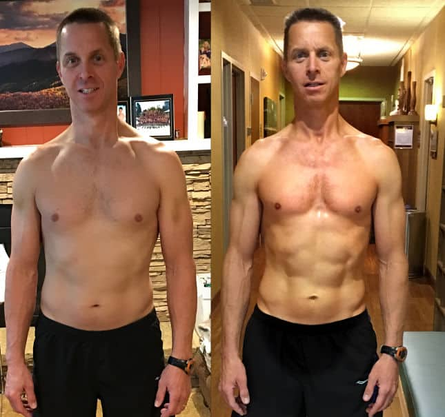 Before and After Weight Loss - Gil A