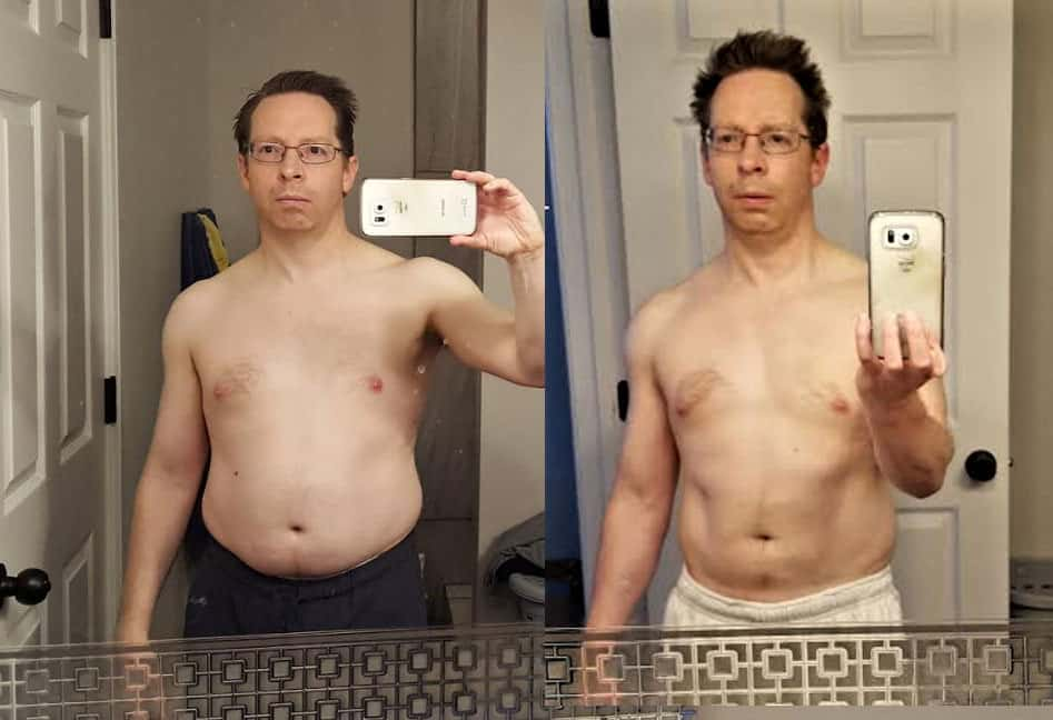 Jeff Before and After abs