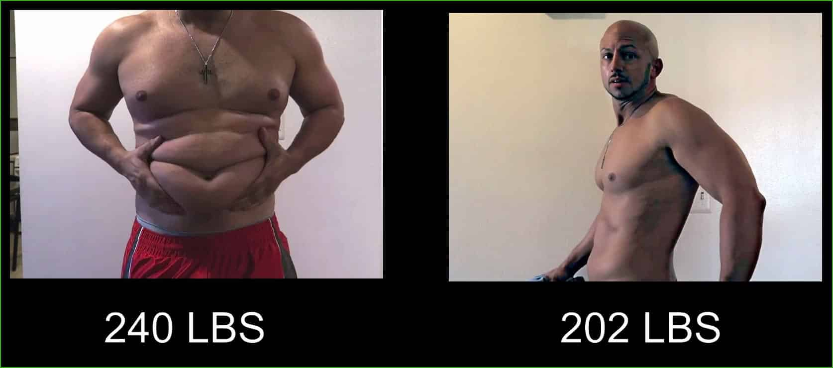 Enzo body transformation before and after