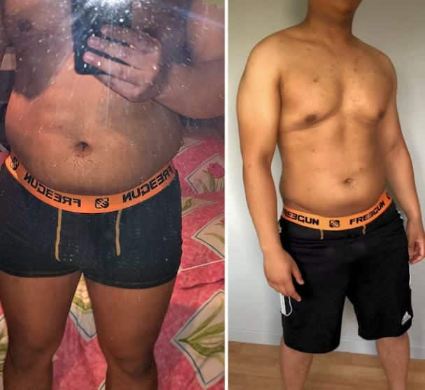37 Crazy Before and After Weight Loss Body Fat Pictures (2019) 36