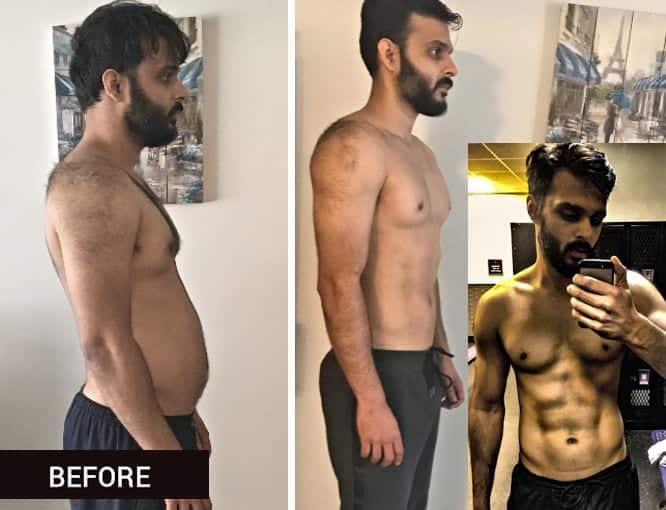 5 weeks body transformation